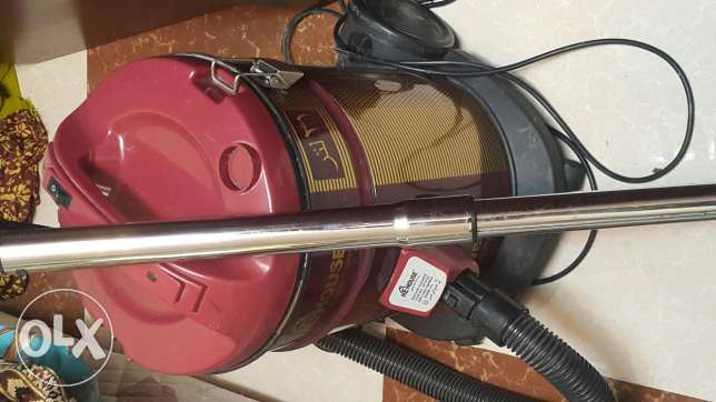 Red vaccume cleaner