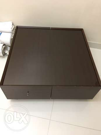 Coffee Table with 4 drawers