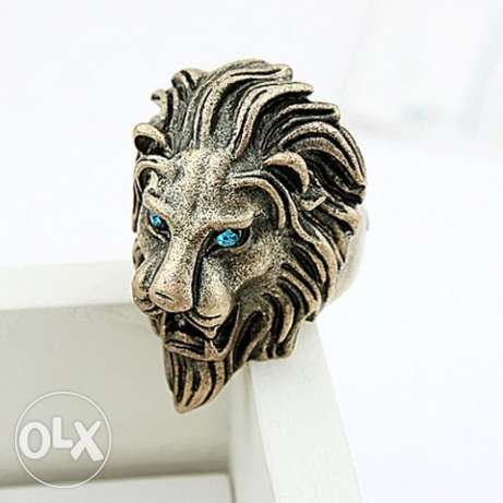 Game of Thrones Lion Shaped Ring