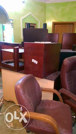 Complete office furniture and equipment