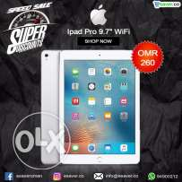 "New Ipad Pro 9.7"" Silver WiFi For Sale only at 260.00 OMR"
