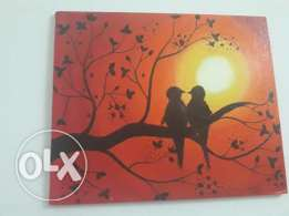 Canvas nature painting