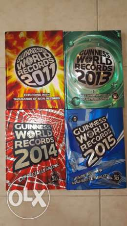 Guinness world records books *4