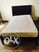 Home centre Single cot & matress