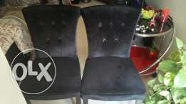 Home centre chairs two No's, excellent condition For sale
