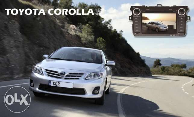 DVD Player For Toyota Corolla 2008 to 2012 مسقط -  3