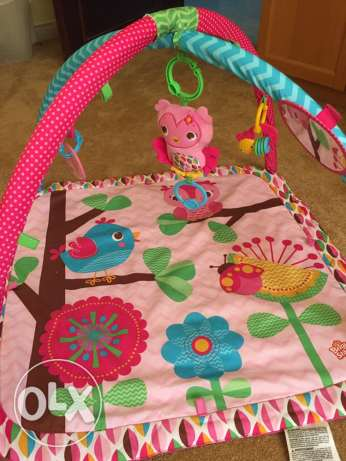 Bright Starts play mat السيب -  3