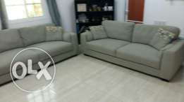 Sofa set from home center for sale very good condition
