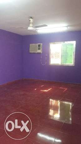 A big room for rent with attached bathroom al khuwair near zakhar mall