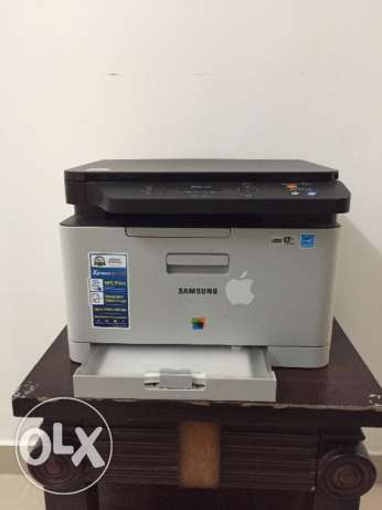Samsung colour printer for sale (Lazer with scanner) almost unused