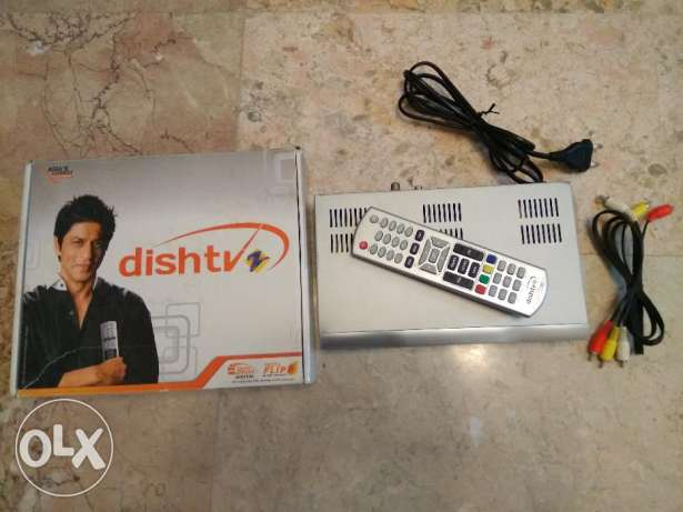 Dish TV Set Top Box with Remote Control in Excellent Condition