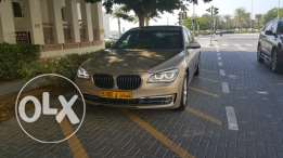 BMW 740 Li model 2013 only 73000km under warranty