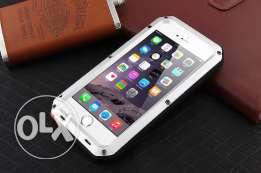 IPhone 6 6s and 7 Shock Dropproof Rain-Waterproof Metal Case silver