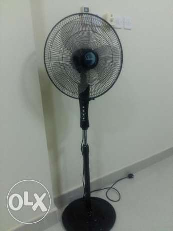 Very Good Condition - IKON Standing Fan with Remote Control
