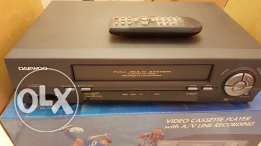 vhs video cassettes player مشغل اشرطة فيديو
