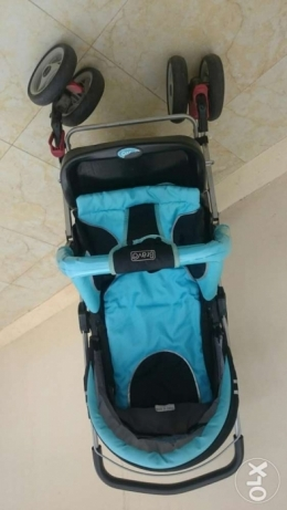 Rarely used Baby stroller very strong and good condition