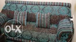 Sofas with matching curtains