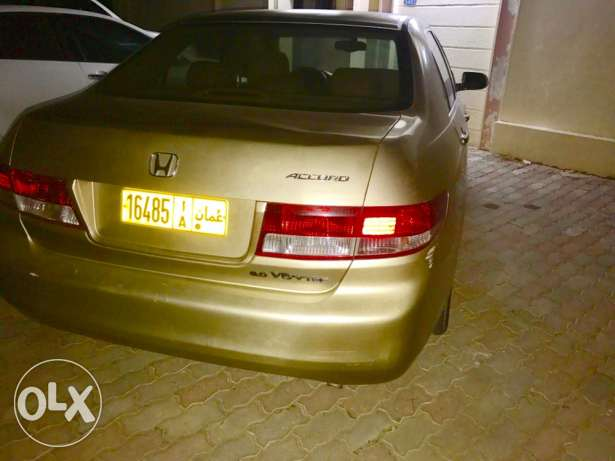 honda accord in good condition صحار -  4
