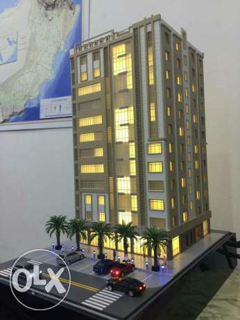 Beautiful and quality brand new flats for sale السيب -  1