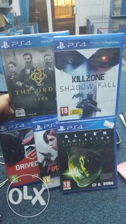 Ps4 Brand NEW GAMES bundle عبري -  1