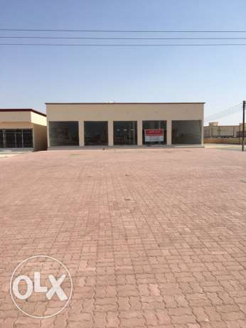 Showroom for rent in Sinaw المضيبي -  2