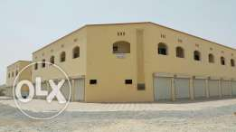 Shops for rent space five in nine mt an industrial Barka Sagsouk close to the Oman Oil