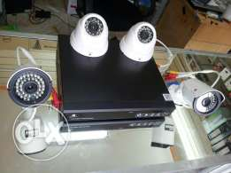 4 Channel AHD Megapicsal CCTV.500GB HDD.With Connection of Smart Phone