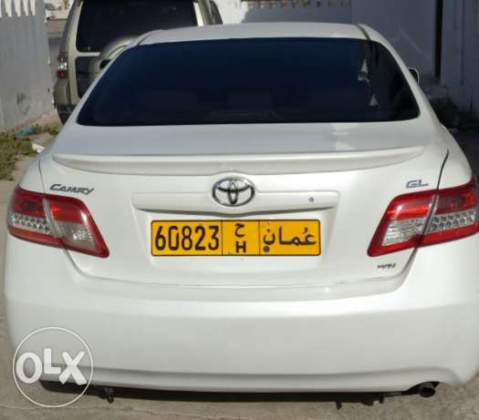 Camry 2011 full automatic gulf agency white colour. السيب -  2