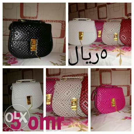 Ladies fashionable bags for a cheapest prices are now on hands .start مسقط -  4