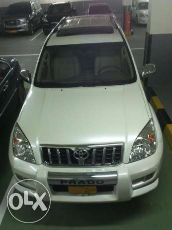 Prado 2008 v6 4.0 Oman version hydrollic system for height adjustment