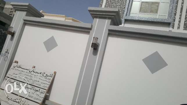 e1 villa for rent in al ozaiba behind shell petrol بوشر -  1