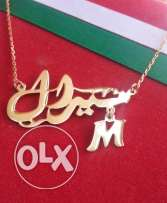 original silver accesorise by names that you ordered