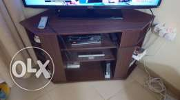 Wooden TV and Corner Cabinets for Immediate Sale