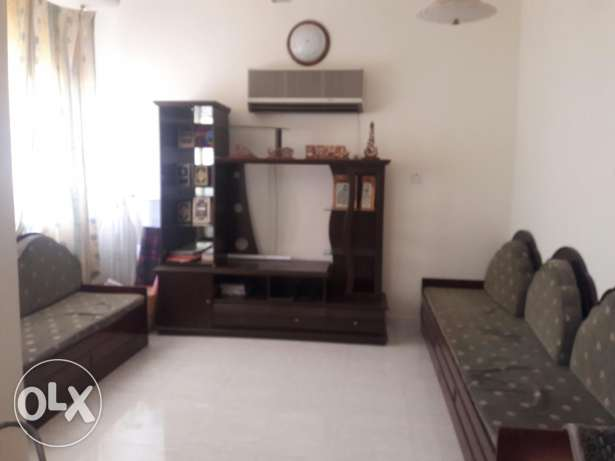 for lady or family in Alkhwair (hall+bedroom+bathroom+big kitchen) مسقط -  1