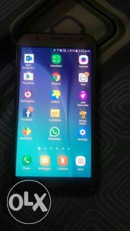 SAMSUNG J7 - Excellent condition - One year old - Gold Colour