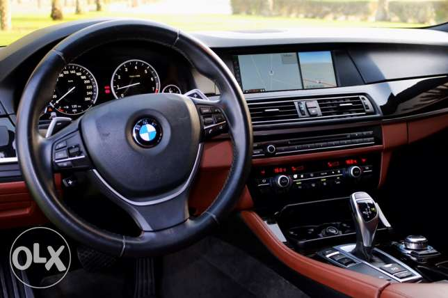BMW 5 series | full option | 2012 | خليجي