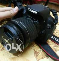 Canon dslr 650d . 18 megapixel touch screen and it can rotate 360 deg