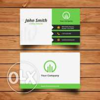 i will design business card & all other stationaries for your business