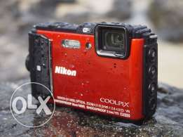 Nikon coolpix Camera AW130 (waterproof and shockproof)