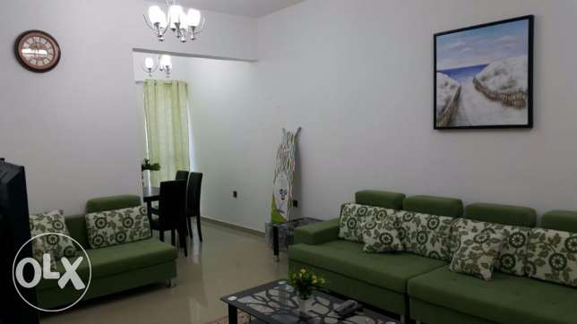 Furnished 2BHK apartment for Rent in Al Khuwair, nr. McDonalds'