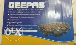 GEEPAS Electric Barbeque Grill Almost new ..just used once.