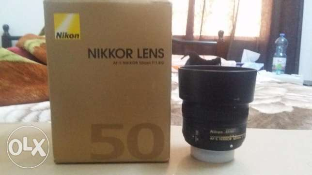 Nikon 50mm f1.8 sparingly used مسقط -  2