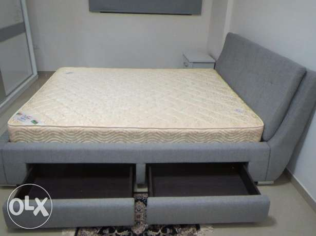 Augusto bed with mattress