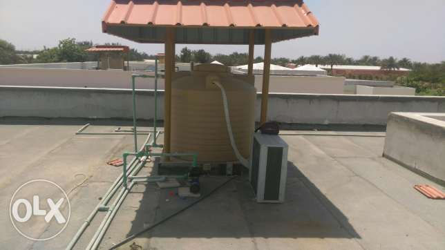 Water cooller for water tang 24 hours cold water Quaranted.