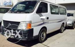 Nissan Bus 15 seats 2013 for sale full company service