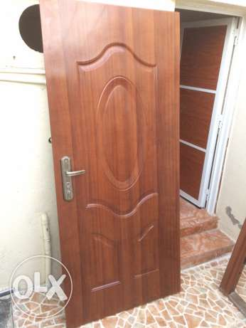 Steel Door with Frame used little For Sale السيب -  1