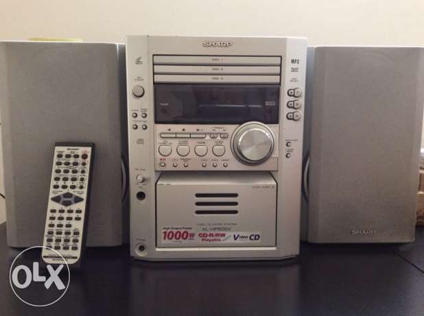 stereo Sharp Video CD,3 DISC,MP3,Video CD Micro System مسقط -  1