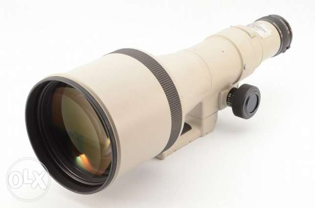 Canon NEW FD 600mm F/4.5 MF Lens