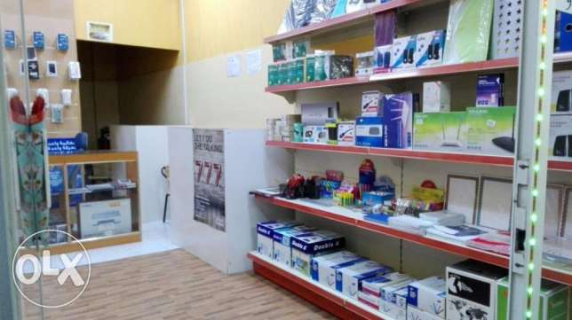 Shop for sale (Running Computer & Mobile Business) مسقط -  4