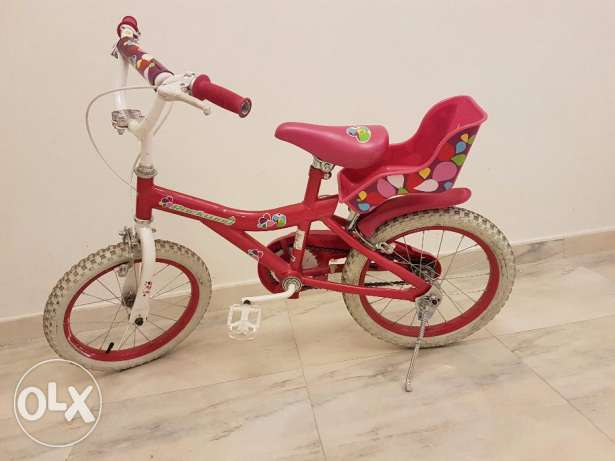Bicycle girl pink colour (Very good condition) reduced to OMR 14